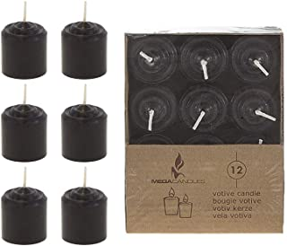 Birthdays Unscented 5 H X 3//5 D Exquizite 24 Brown Colored Spell Candles No Smoke for Spell Wicca Wiccan Supplies and Christmas Hanukkah Chime Parties