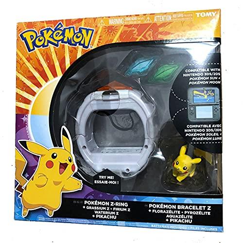 Pokemon 3D Z Pulsera Pikachu Z Crystal Anime Figura De Acción Modelo Juego Enlace Somatosensorial Niños Juguetes De Regalo