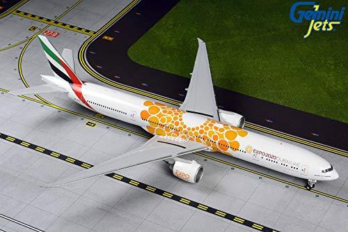 Boeing 777-300ER Emirates Orange Expo 2020