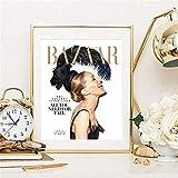 AJBB Wandbilder Leinwandbilder Malerei, Poster Sarah