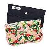 Cussi Mask Case-Pack, rechteckig, für Masken, Schwarz, Flamingo