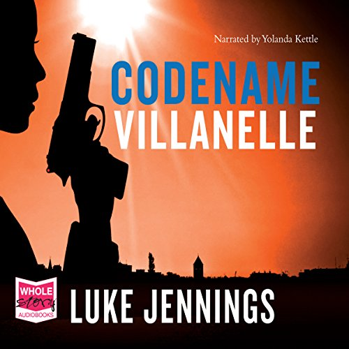 Codename Villanelle audiobook cover art