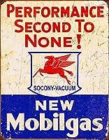 モービルガス-2番目に優れたパフォーマンスティンサイン