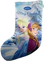 La calza è 33 centimetri di lunghezza Anna & Elsa calza Design Questa sarebbe una grande calza per tutti i fan congelato Questo calza sarebbe meglio per piccoli regali Ha un anello nella parte superiore in modo che possa appenderlo