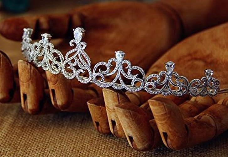 &zhou Bijoux de cheveux nuptiale Coiffure à la main Accessoires pour la mariée 14  3.5cm