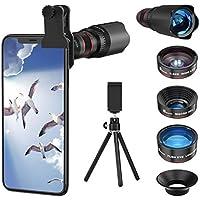 Selvim 4-in-1 Phone Camera Lens Kit
