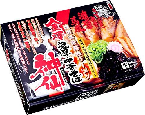 久保田麺業 新・金澤濃厚中華そば 神仙(大)