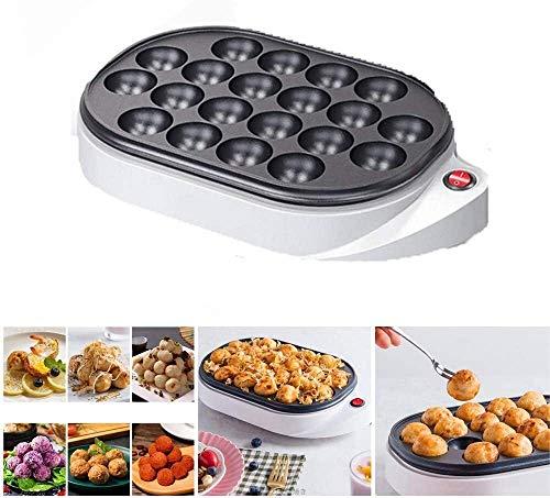 AULLY PARK Elektrischer japanischer Takoyaki Maker, Takoyaki-Spießchen, elektrische Maschine zur Herstellung japanischer Takoyaki Octopus Bällchen, 220V, 650W