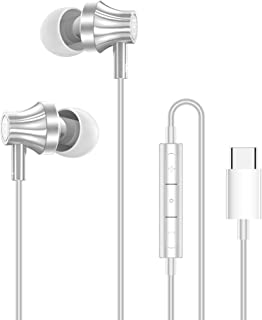 SMARTDEVIL USB Type C Earphones, MR10 Type-C Wired Stereo in-Ear Earbuds, Bass Noise Cancelling Headsets with Microphone a...