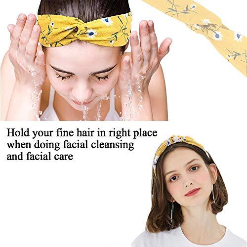 Viccess 24pcs Diademas Mujer Boho Vintage Cintas Pelo Mujer Elasticas Pañuelos Pelo Turbantes para Mujer Cabello Hair Band Accesorios de Pelo Yoga Cabeza Wraps