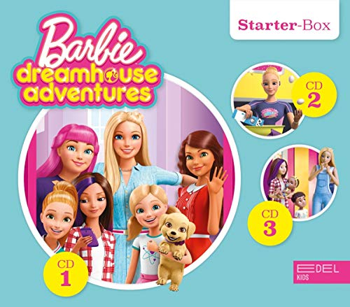 Barbie Dreamhouse Adventures - Starter-Box (1 - 3) - Die Original-Hörspiele zur TV-Serie