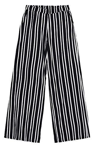 Calça Pantalona em viscose, Malwee, Femenino, Preto, G