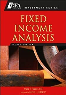 Fixed Income Analysis (text only) 2nd(Second) edition by F. J. Fabozzi