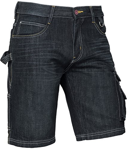 Korte werkbroeken Brams Paris RUBEN Korte spijkerbroek