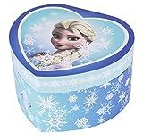 Trousselier TROUS30430 Schmuckdose Spieluhr'Frozen Eiskönigin Elsa' in Form eines Herzens