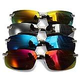 ShopSquare64 Outdoor Radfahren Anti Farbbrillanz Film polarisierten Sonnenbrillen -