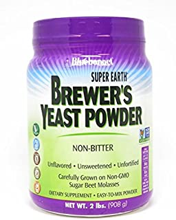 Bluebonnet Nutrition Super Earth Brewer's Yeast Powder, 2 pound