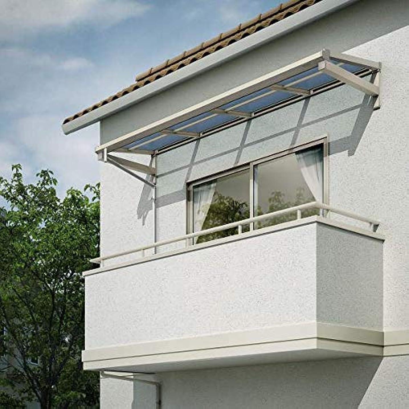 キャラバンマイクロ放映YKKAP 持ち出し屋根 ソラリア 4間×2尺 フラット型 熱線遮断ポリカ屋根 メーターモジュール 600N/m2 プラチナステン