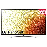 LG NanoCell 55NANO91-ALEXA 2021-Smart TV 4K UHD 139 cm (55') con Inteligencia Artificial, Procesador Inteligente α7 Gen4, Deep Learning, 100% HDR, Dolby ATMOS, HDMI 2.1, USB 2.0, Bluetooth 5.0, WiFi