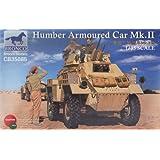ブロンコモデル 1/35 英ハンバーMk. II装甲車-初期タイプ CB35085 プラモデル