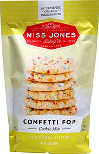 MISS JONES BAKING CO, MIX, COOKIE, CONFETTI POP - Pack of 6