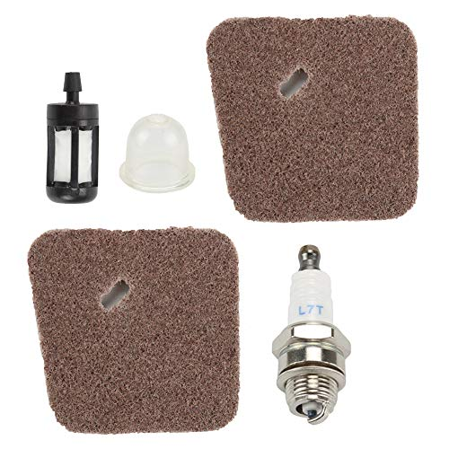 Mckin FS45 FS55RC Air Filter Tune Up KIt fits Stihl FS38 FS46 FS55 FS55C FS55RC FS45C HL45 KM55R KM55RC Trimmer Weed Eater Parts
