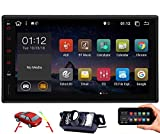 Double 2 Din Android 10.0 Car Stereo EINCAR 7 Inch GPS Navigation Car Video Player in Dash Car Radio Multimedia System with Bluetooth WiFi 1080P Mirrorlink Capacitive Touchscreen Backup Camera
