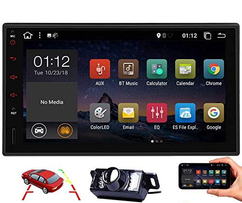 Double Din Car Radio Bluetooth Car Stereo Carplay Android Auto Head Unit Android 10 2 Din 7 Inch GPS Auto Radio Car Video Player in Dash Multimedia Receiver WiFi Backup Camera