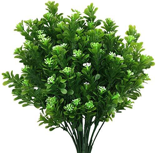 Nep Plant Groen Struiken Buiten Hek Binnen Buiten Decor Plastic Planten Weerbestendig UV-bestendig