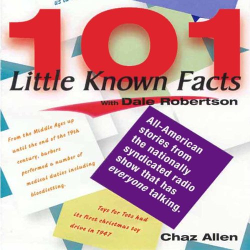 101 Little Known Facts audiobook cover art