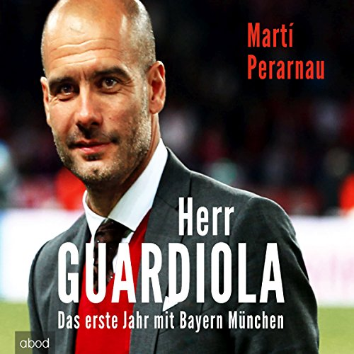 Herr Guardiola audiobook cover art