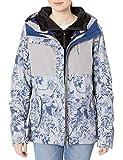 ROXY Snow Junior's Jetty 3N1 Jacket, Heather Grey Botanical Flowers, L