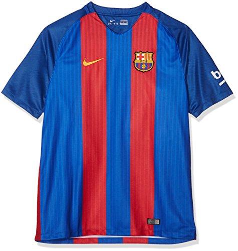 NIKE Men´S FC Stadium Top Camiseta De La 1ª Equipación Fútbol Club Barcelona 2016-2017, Hombre, Azul/Rojo/Dorado, XL