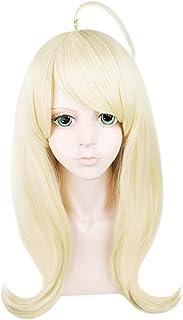 C-ZOFEK Danganronpa V3 Akamatsu Kaede Cosplay Long Wig (Golden)