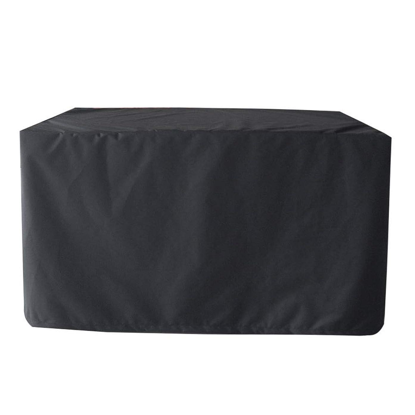 失業把握思いつくBbq コンロ ガーデン家具カバー防水 パティオセットカバー 通気性 オックスフォード生地、マルチサイズ、カスタマイズされた 屋外用テーブル (Color : Black, Size : 250x250x90cm)