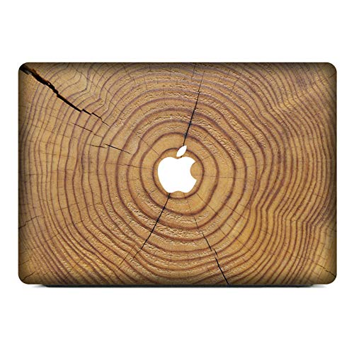 Wood Laptop Decal Vinyl PVC Skin Sticker for MacBook Air Pro 12' 13' 15 16' A1465 A1398 A1502 A1425 A1369 A1707 A1706 A1534 Film-W017-New Pro 13 A1708
