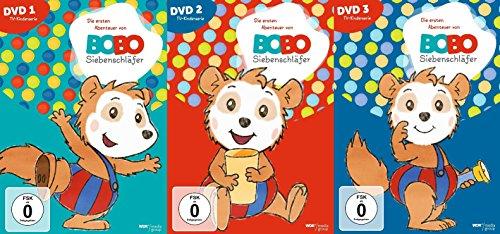 Bobo Siebenschläfer - DVD 1 bis DVD 3 im Set - Deutsche Originalware [3 DVDs]