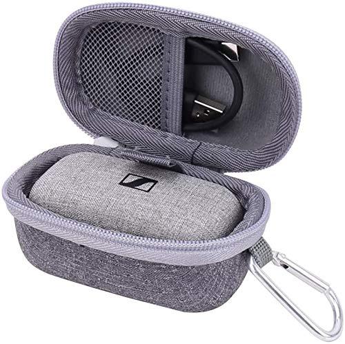 Borsa Custodia Rigida per Sennheiser MOMENTUM True Wireless Cuffia Telefonica In-Ear di Aenllosi