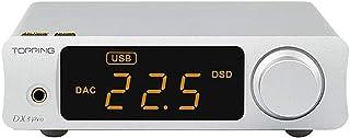 Topping DX3 PRO LDAC HiFi DAC Headphone Amplifier XMOS XU208 Bluetooth USB/Optical/Coaxial DSD512 32bit/768KHz Stereo Audi...