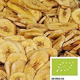 1kg BIO Bananenchips - fruchtige und knusprige Trockenfrüchte aus sonnengereiften Bananen, mit BIO...