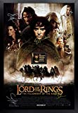Lord of the Rings Signed Movie Poster Framed and Ready to Hang, Collectible, Memorabilia, Autographs, Signatures