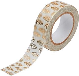 Toga Masking Tape, Blanc et Or, 10 m