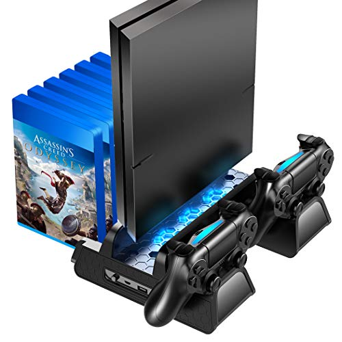 OIVO PS4 /PS4 Slim/PS4 Pro Vertical Cooling Stand...