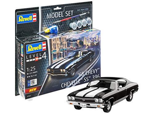 Revell- Model Set 1968 Chevy Chevelle SS Kit plástico, Multicolor, 1/32 (67662)