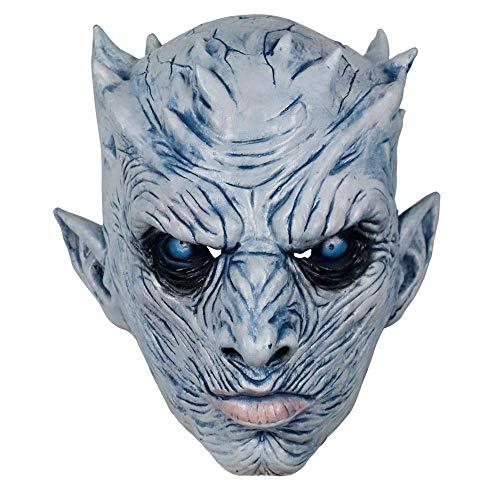 XINRUIBO Máscaras de Halloween la Noche de Halloween Rey de látex máscara de Halloween de Miedo Realista del Partido del Traje de látex máscara B máscaras de Halloween (Color : B)