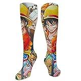 winterwang MechanikaLaDama Muerte Calcetines de compresión Unisex Adultos Medias deportivas Calcetines largos hasta la rodilla