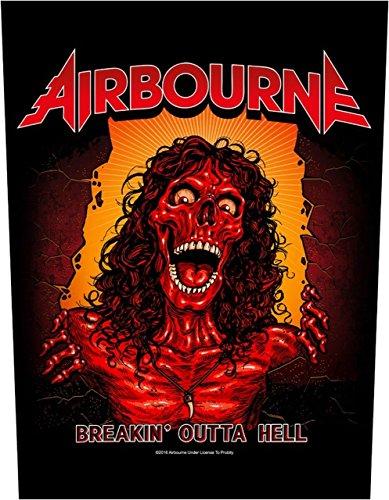 Airbourne Breakin Óutta Hell Rückenaufnäher Airbourne Backpatch