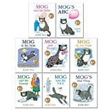 Mog The Cat Books Series 8 Books Collection Set Pack By Judith Kerr (Mog and The Baby, Mog's ABC, Mog in the Dark, Mog and Bunny, Mog on Fox Night, Mog and the Granny, Mog and the V.E.T & Bad Thing)