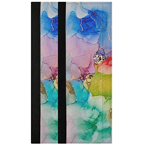 Oarencol Juego de 2 fundas para manija de puerta de refrigerador con diseño de mármol, decoración para electrodomésticos de cocina para nevera, horno, lavavajillas