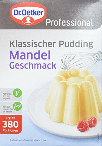 Dr. Oetker Professional Klassischer Pudding mit Mandel-Geschmack, Puddingpulver in 2,5 kg Packung